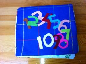 Babyboekje van 1 tot 10